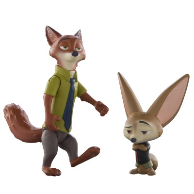 Zootopia- Core Figure-Nick & Finnick