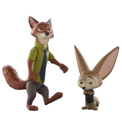 Zootopia- Core Figure-Nick & Finnick