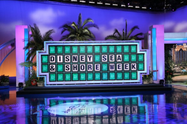 Wheel of Fortune Celebrates Disney Sea & Shore Week