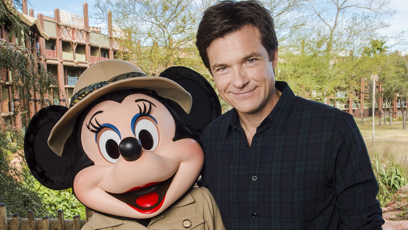 (FEB. 21, 2016): Actor Jason Bateman poses with Minnie Mouse Feb. 21, 2016 at DisneyÕs Animal Kingdom Lodge at Walt Disney World Resort during a press junket for Walt Disney Animation Studios' newest film, ÒZootopia.Ó Bateman voices con artist fox Nick Wilde in the upcoming animated film, set for release on March 4, 2016. (Chloe Rice, photographer)
