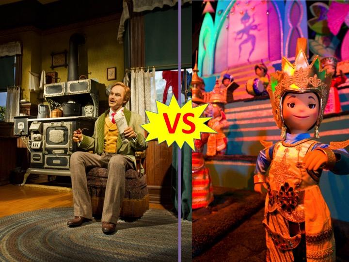 Mouse Madness 3: Round Two — Progress vs. Small World
