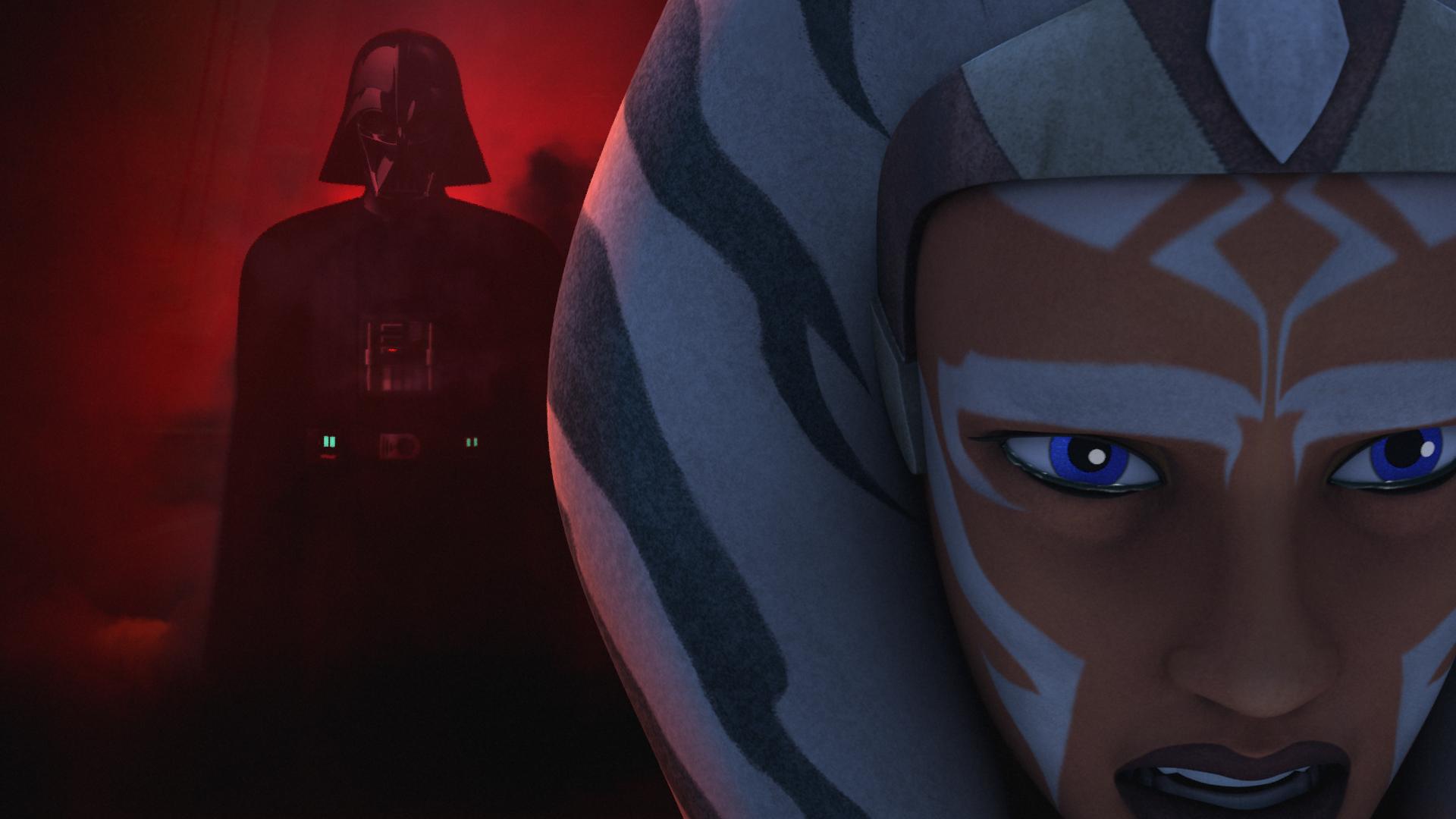 Ahsoka and Vader