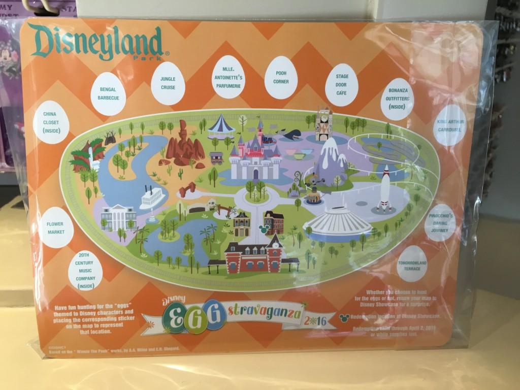 Disneyland Map 2016