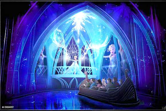 Frozen Ever After Added to My Disney Experience App, Could Have a Height Restriction