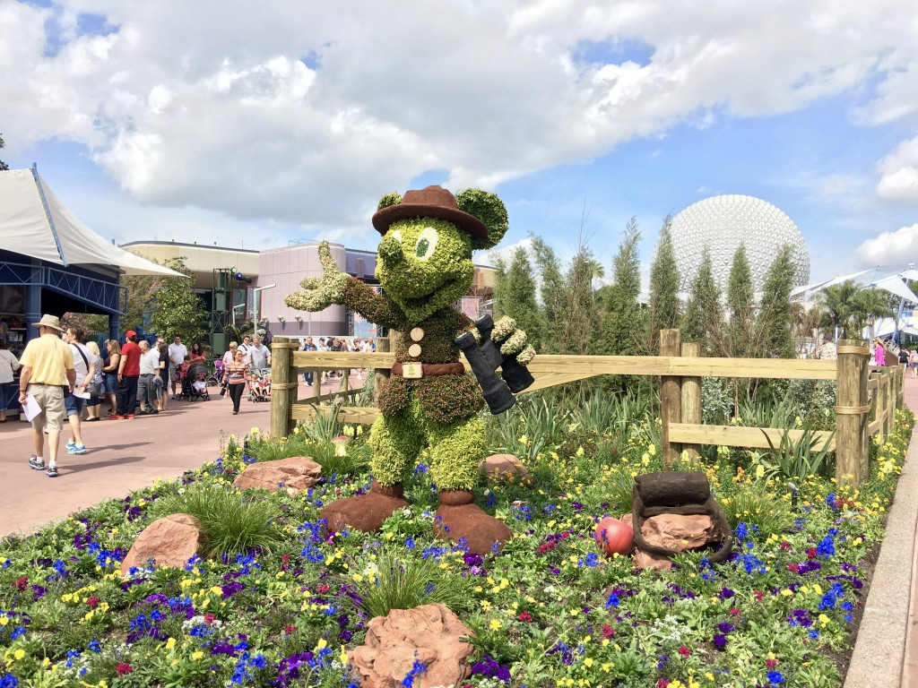 epcot international flower and garden festival in full bloom now as they say a picture is worth a thousand words so this 25 000 word essay will begin as we walk into world showcase and walk clockwise ending in