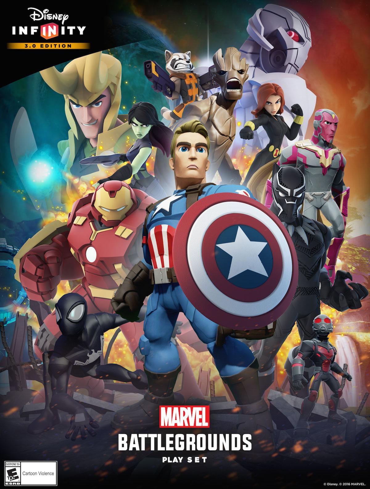 Disney Infinity 3.0 - Marvel Battlegrounds and New Marvel Figures