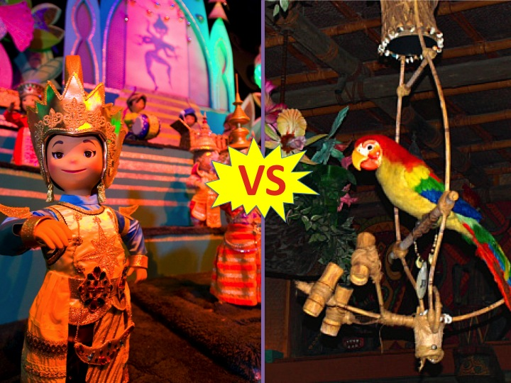 Mouse Madness 3: Opening Round — Small World Kids vs. Tiki Room Birds