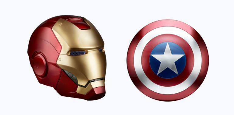 Hasbro Asks Fans for Input on Future Marvel Role Play Pieces