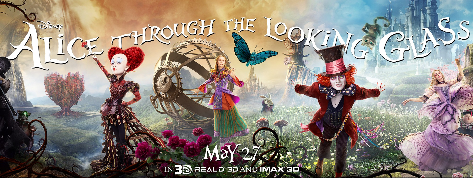 New Trailer for Alice Through the Looking Glass