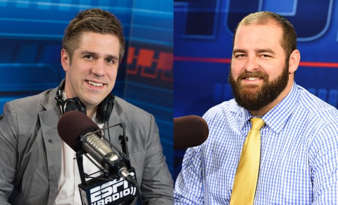 First and Last with Lundbgerg & Golic Jr to Debut on ESPN Radio
