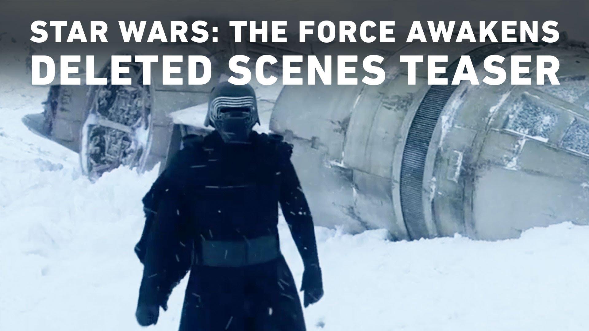 The Force Awakens Deleted Scenes Teaser Released