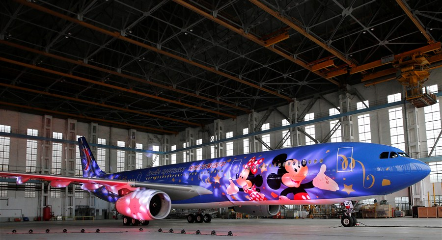 China Eastern and Shanghai Disney Resort Partner on Magical Planes