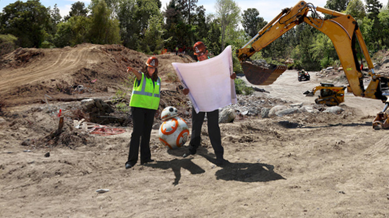 Disney Parks Breaks Ground on Star Wars Lands