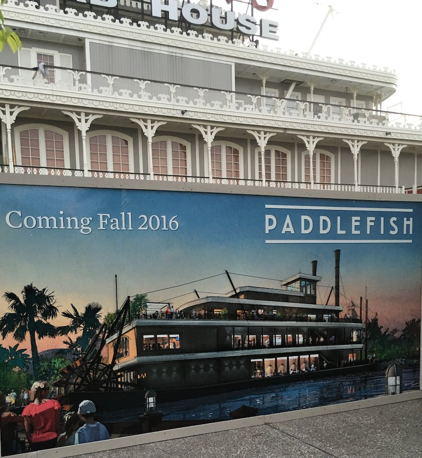 Fultons Crab House Transforming into Paddlefish