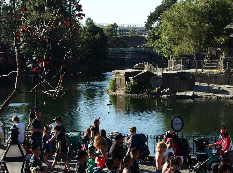 Disneyland Resort Construction Update 4/8/16