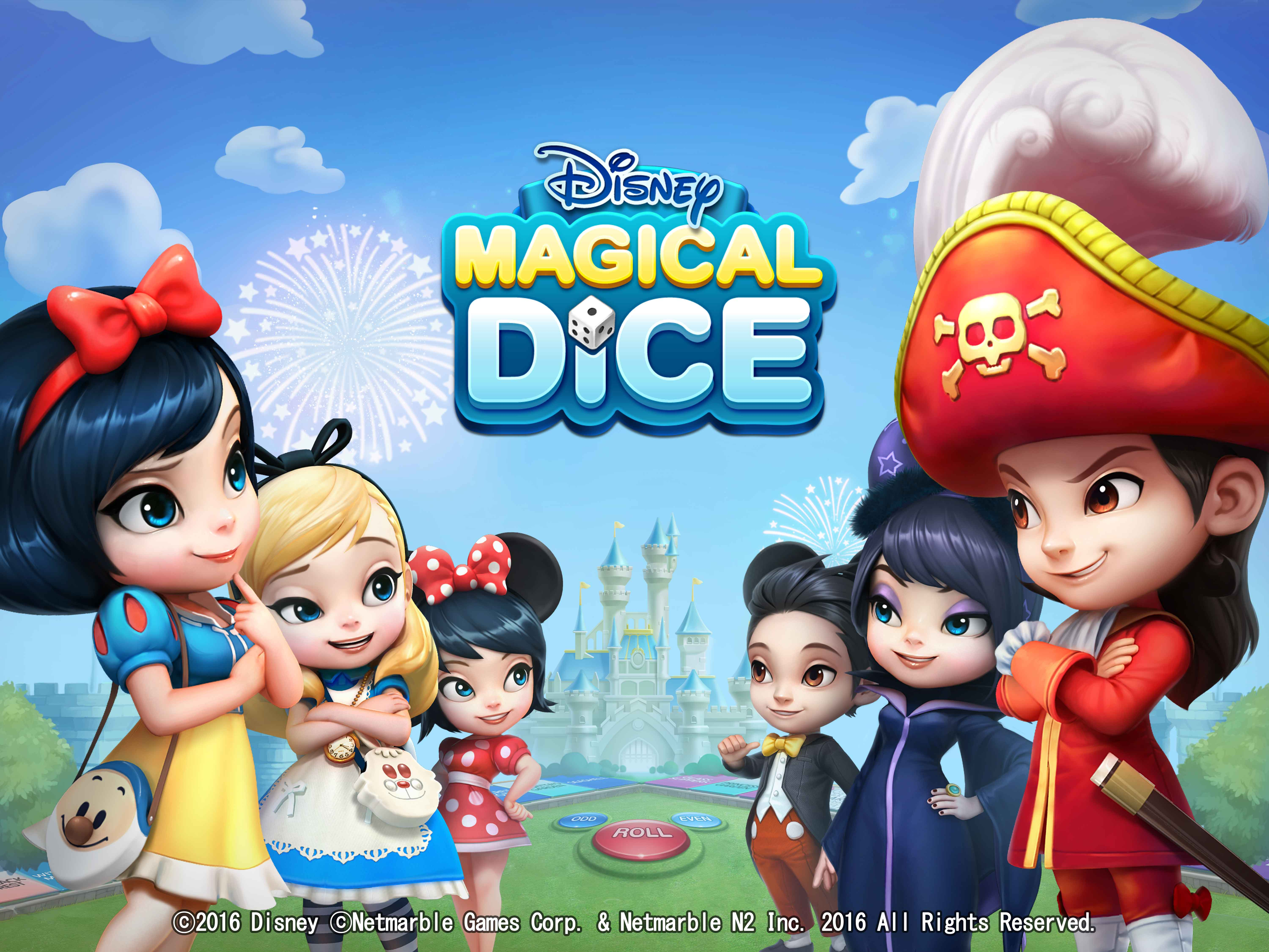 Disney Magical Dice Coming to Mobile Devices