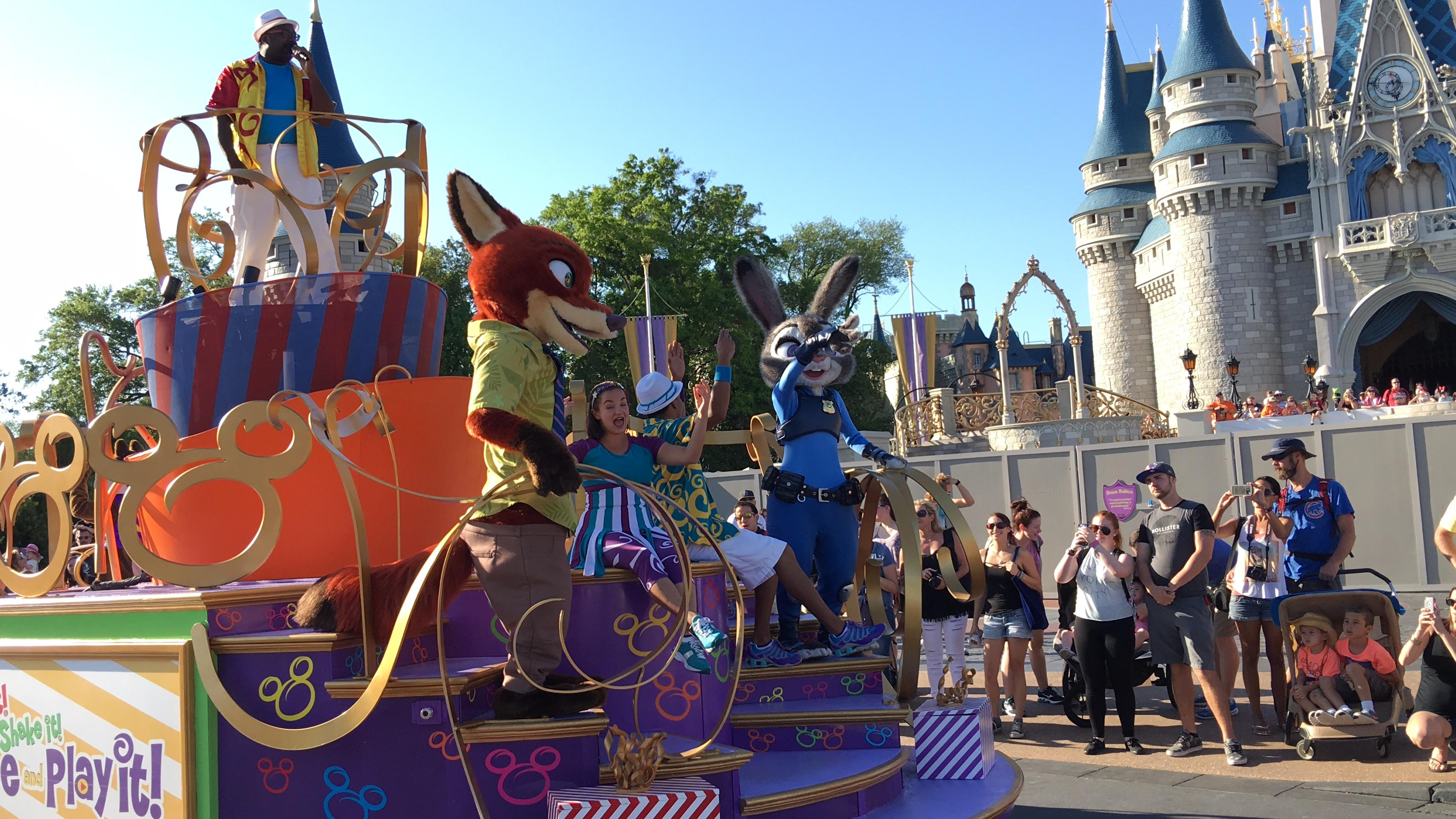 Zootopia Comes to Disney Parks
