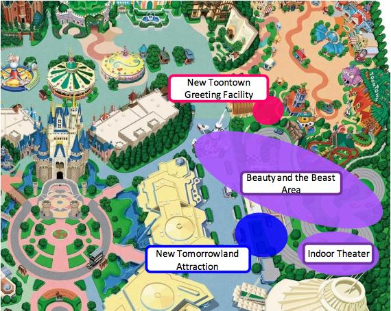 Tokyo disney resort announces major expansion details tokyo disneyland facilities development plan sciox Image collections