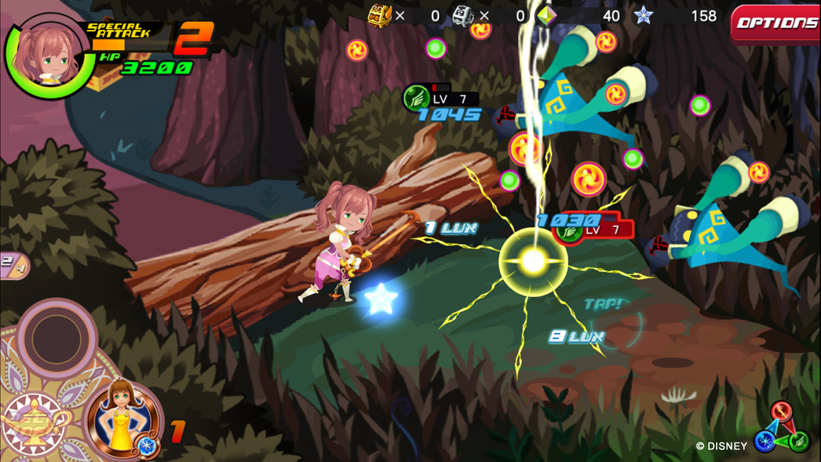 Kingdom Hearts Unchained x Launches on Mobile