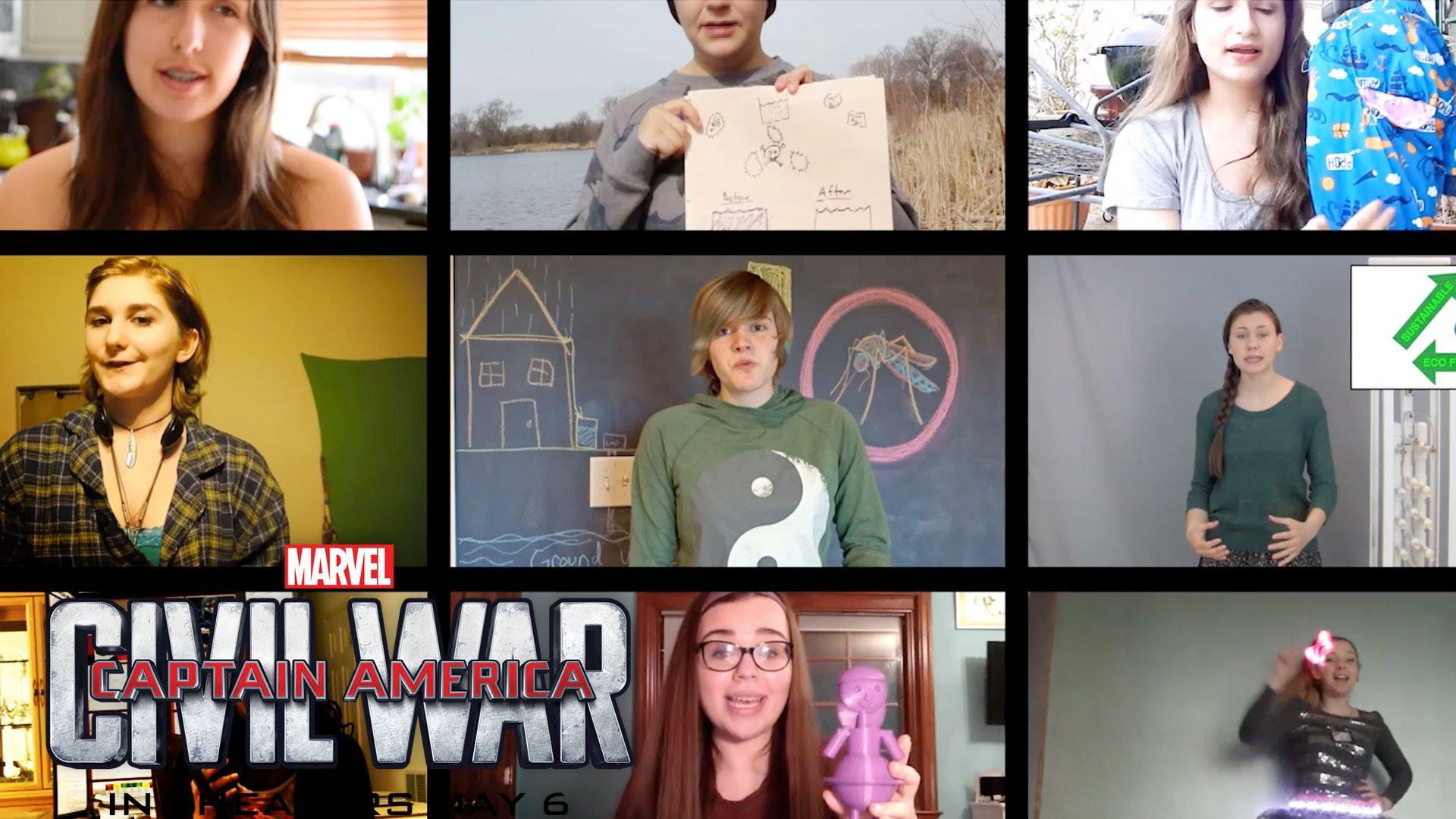 Finalists Announce for Captain America: Civil War Challenge