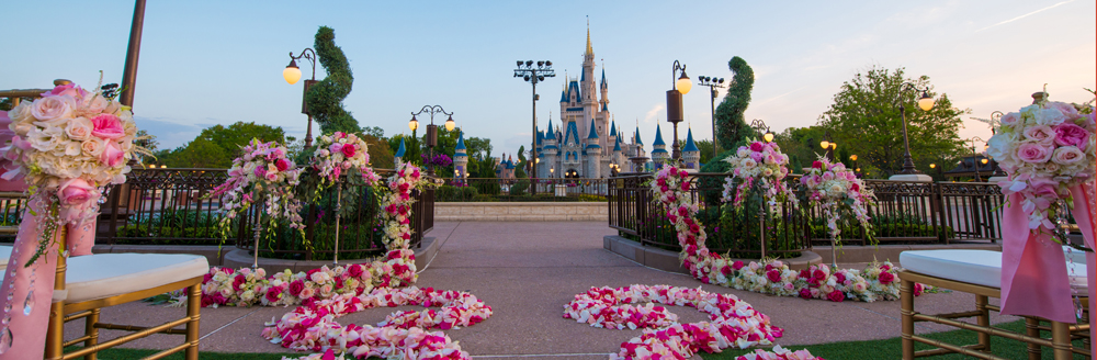 Magic Kingdom's East Plaza Garden Now Open for Weddings