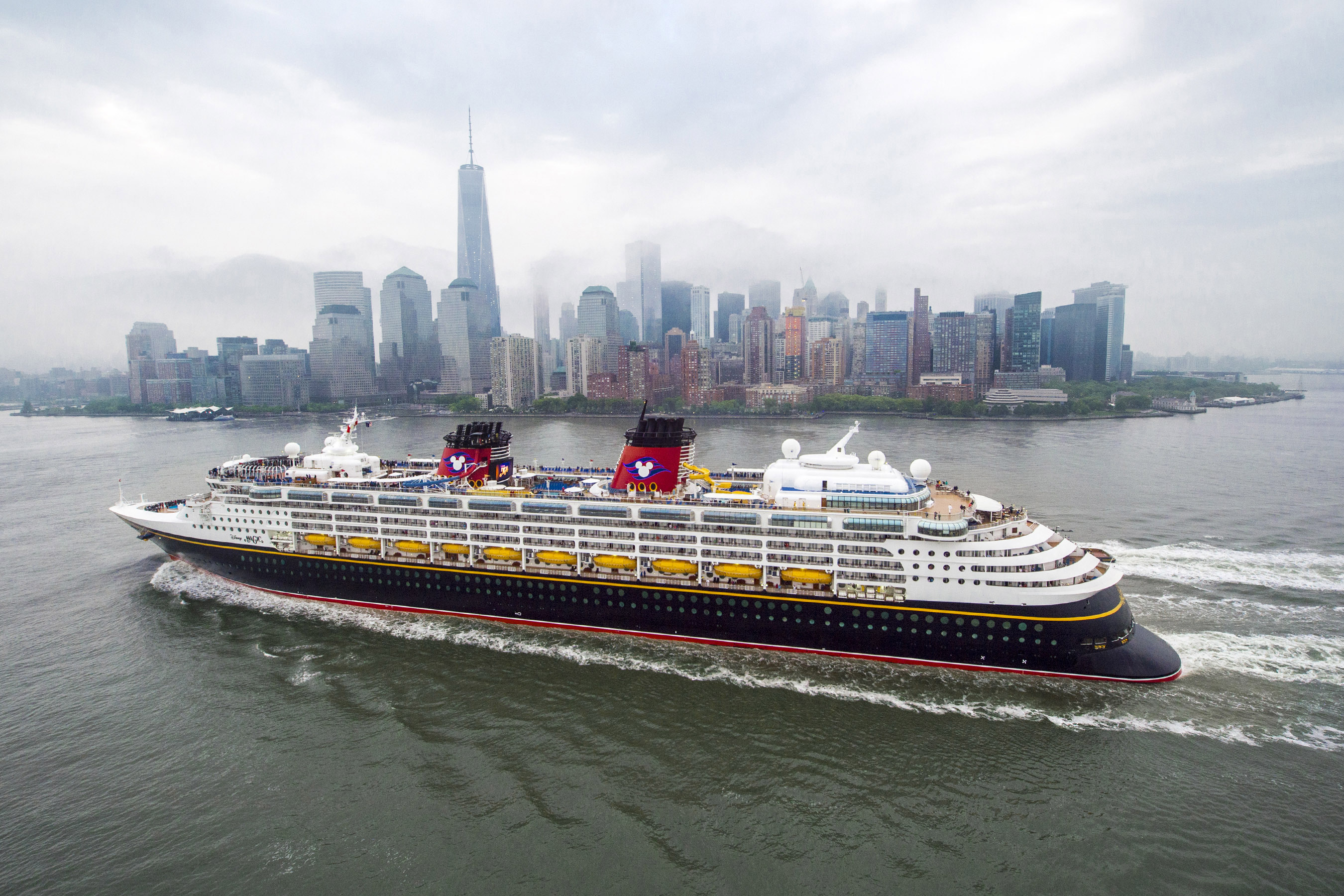Disney Cruise Line Announces Sailing Out of NYC, Galveston, and San Diego in 2017