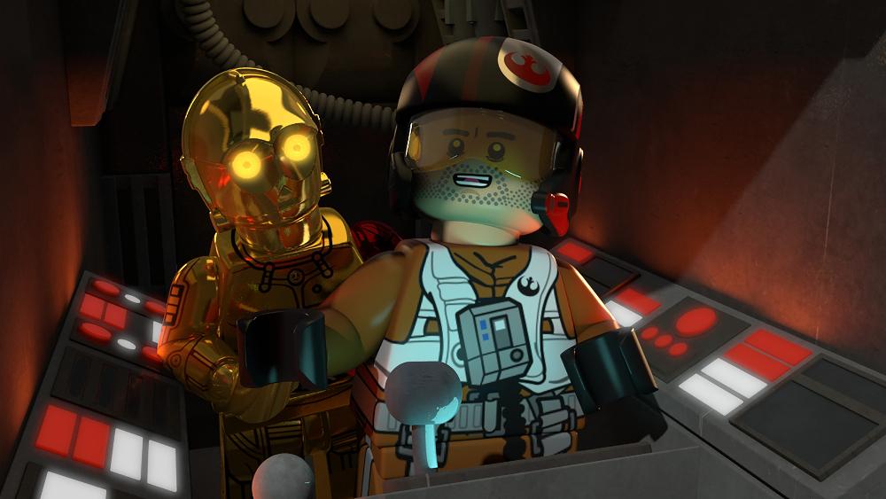 C-3PO, POE DAMERON