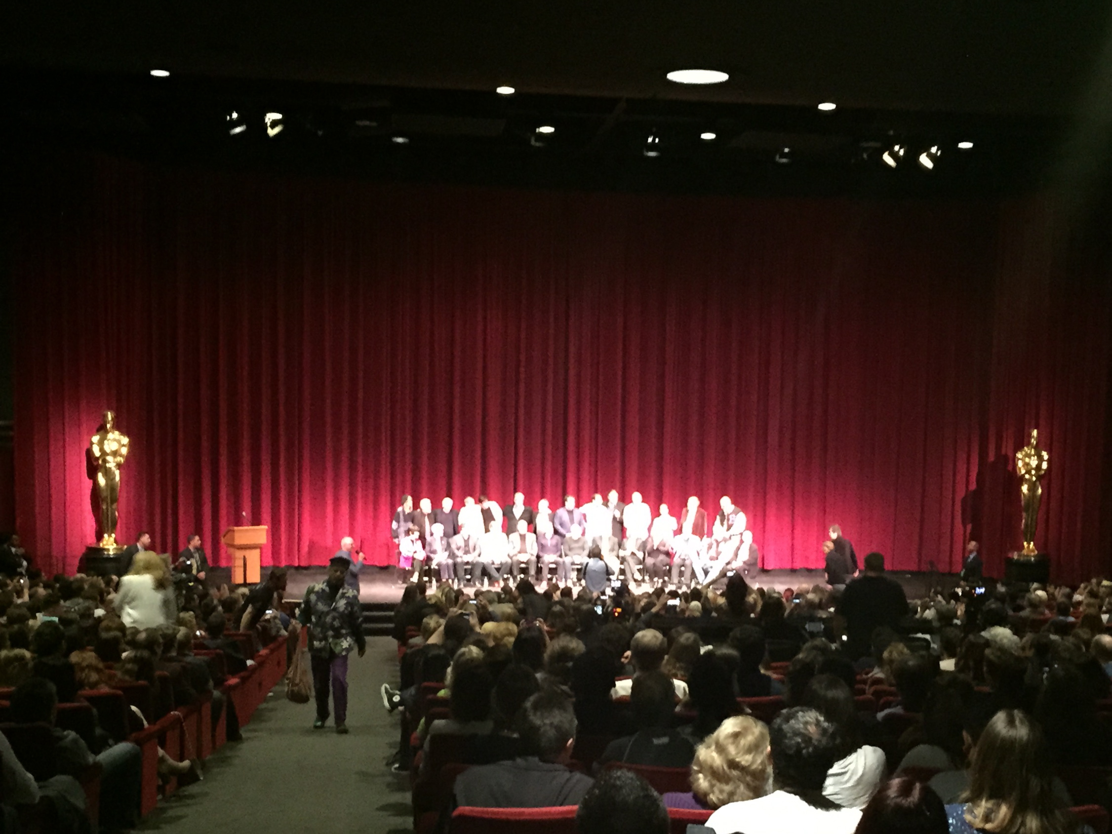 """The """"Class of 1991"""" included panelists and other personnel from the film."""