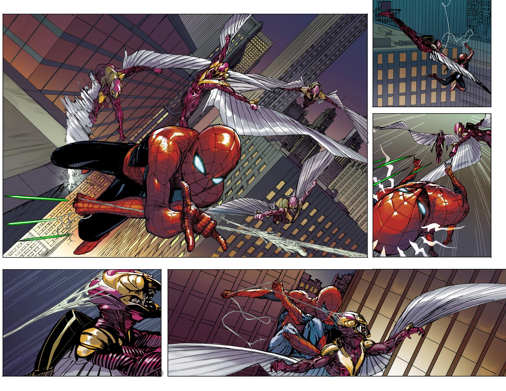 Spider-Man Comes to Civil War II