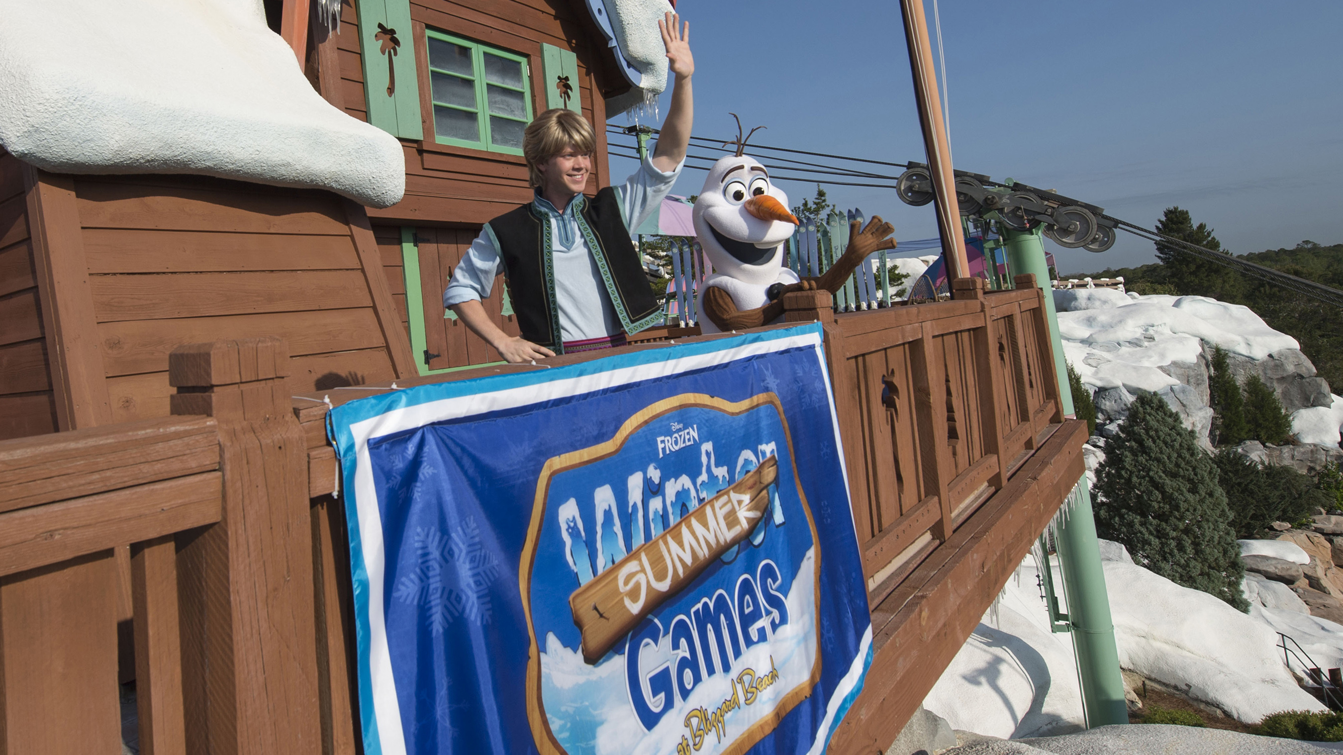 """""""Frozen"""" Games Coming to Blizzard Beach May 27th"""