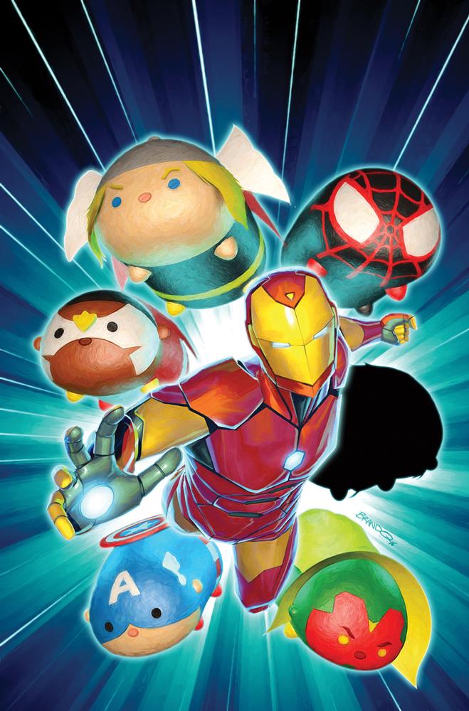 Marvel Debuting Tsum Tsum Variant Covers Laughingplace Com