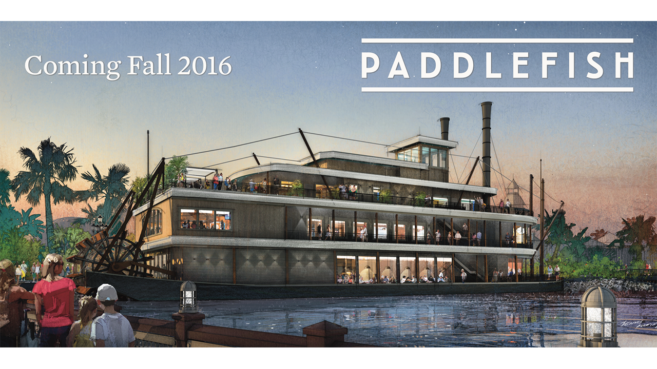 Paddlefish to Open at Disney Springs This Fall