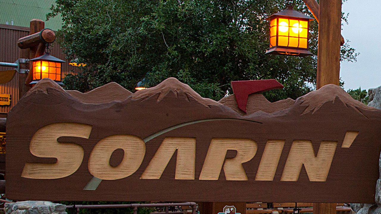 Disneyland Resort Highlights Soarin' Around the World
