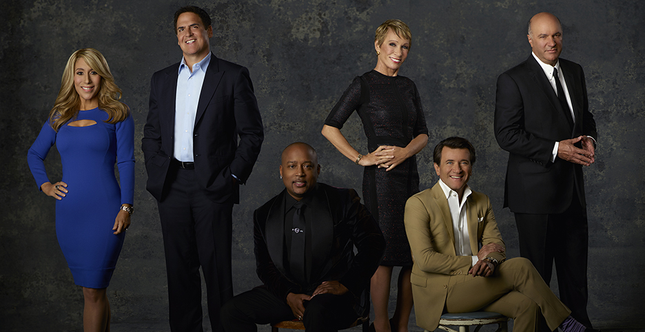 "SHARK TANK - Lori Greiner, Mark Cuban, Daymond John, Barbara Corcoran, Robert Herjavec and Kevin O'Leary is a ""Shark"" on ABC's ""Shark Tank."" (ABC/Bob D'Amico)"