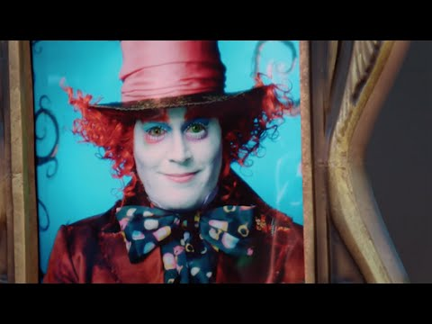 Johnny Depp Surprises Disneyland Guests as the Mad Hatter