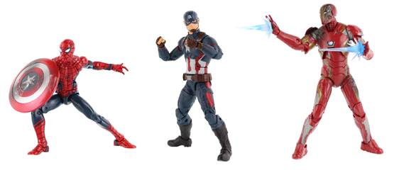 Hasbro Debuts Civil War Three-Pack Figure Set