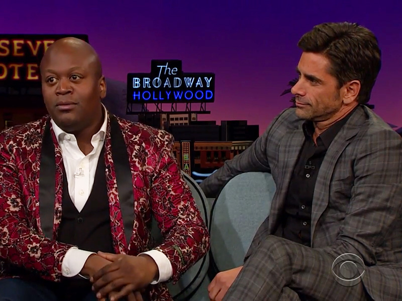 "Tituss Burgess and John Stamos Sing Some ""Little Mermaid"""