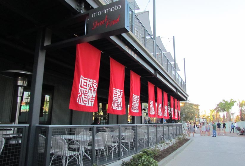 Morimoto Asia's Street Food Quickly Becomes a Favorite