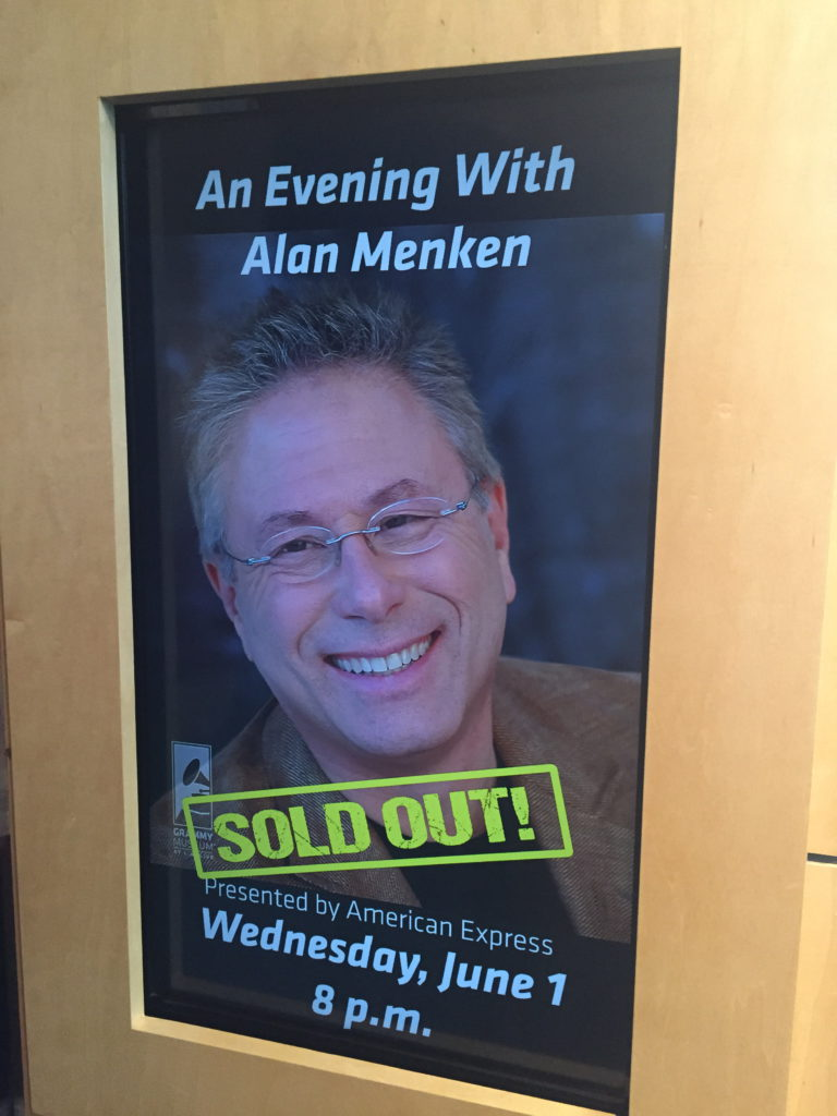 The evening was sold out