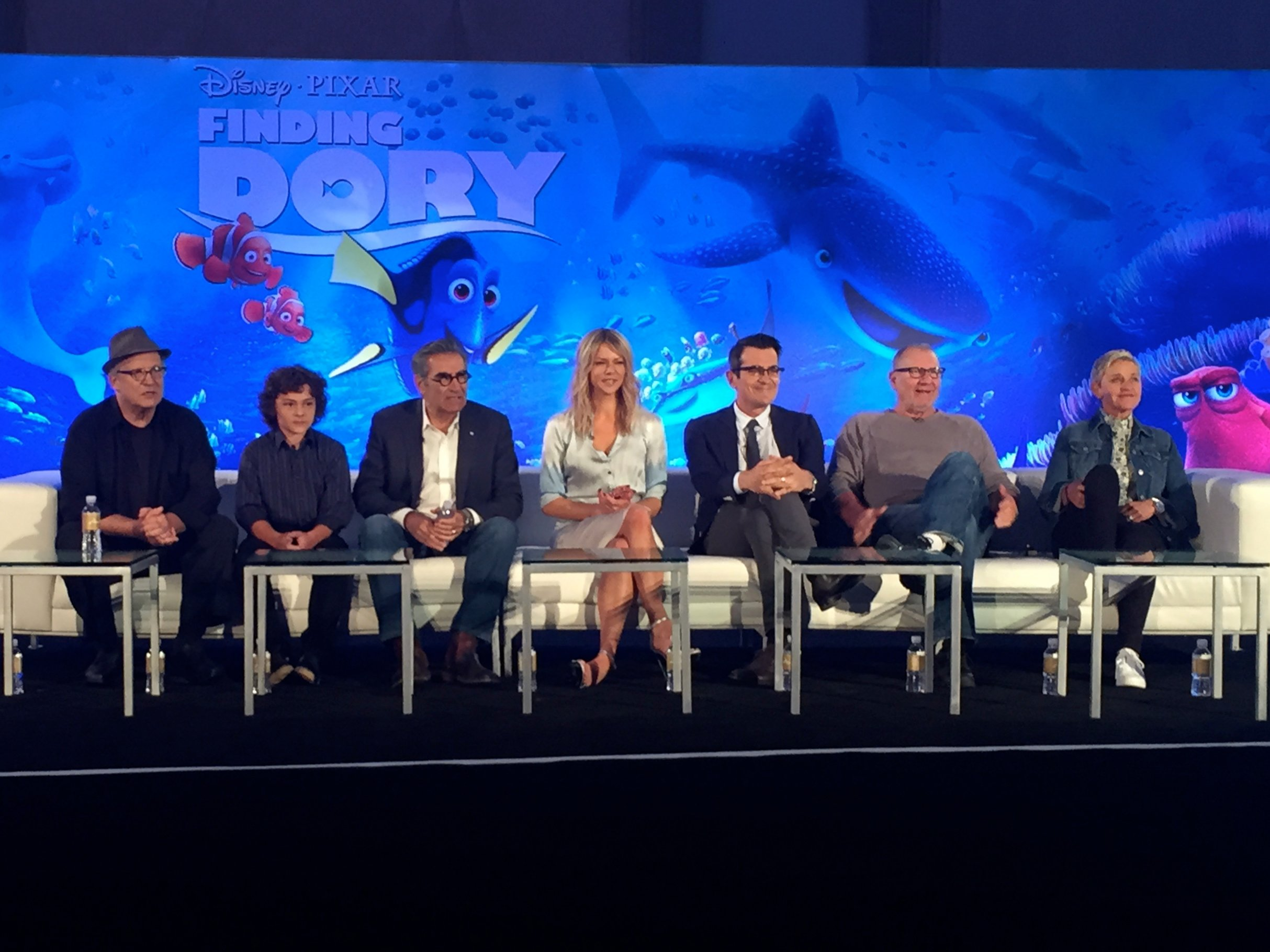 The cast of Finding Dory