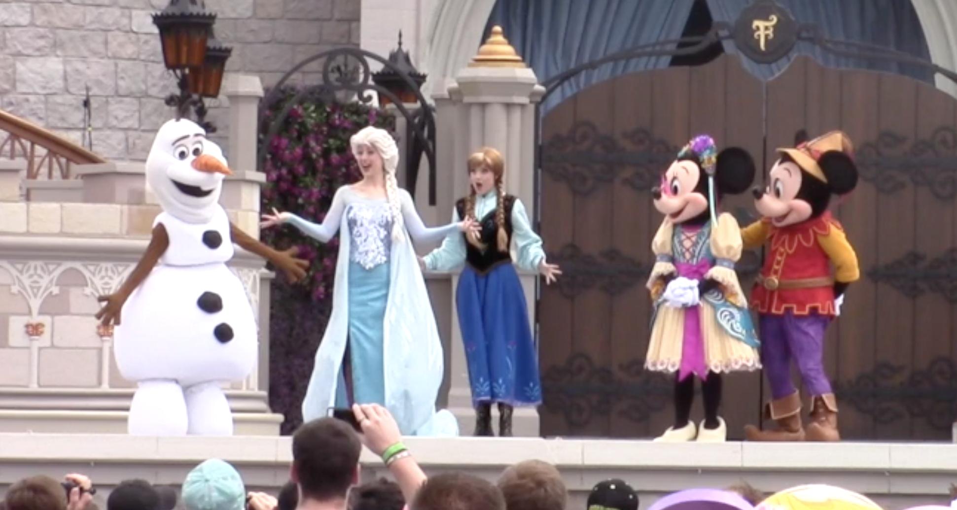 Mickey's Royal Friendship Faire Debuts at Magic Kingdom