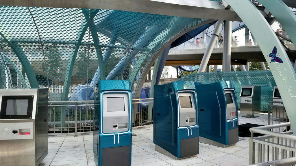 TRON Fastpass machines