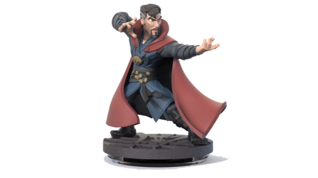 "Scrapped ""Doctor Strange"" Disney Infinity Figure Design Revealed"