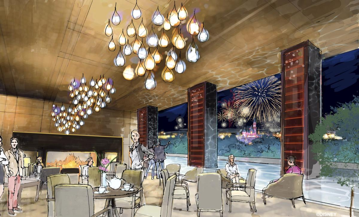 Disney announces a new flagship luxury hotel for the for Hotel concept