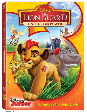 The Lion Guard - Unleash the Power on Disney DVD September 20th