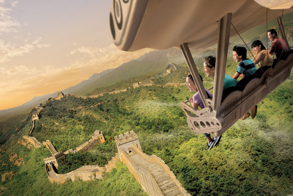 Soarin' Around the World: From California to Shanghai