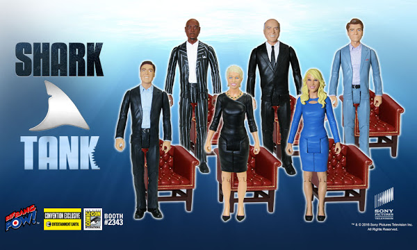 """Shark Tank"" Action Figures to Be Released at San Diego Comic-Con"