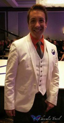 "Andrew MacLaine, dressed as Star Wars ""Dapper Dameron"""