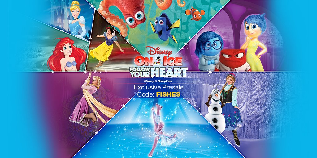 """Disney on Ice Presents Follow Your Heart"" to Feature ""Finding Dory"""