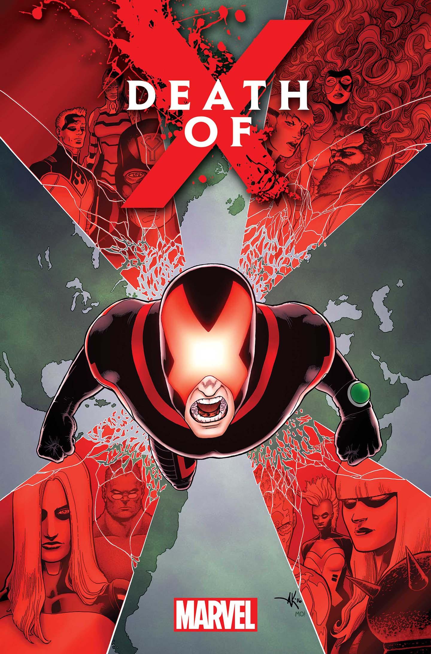 Marvel Brings Us Death of X